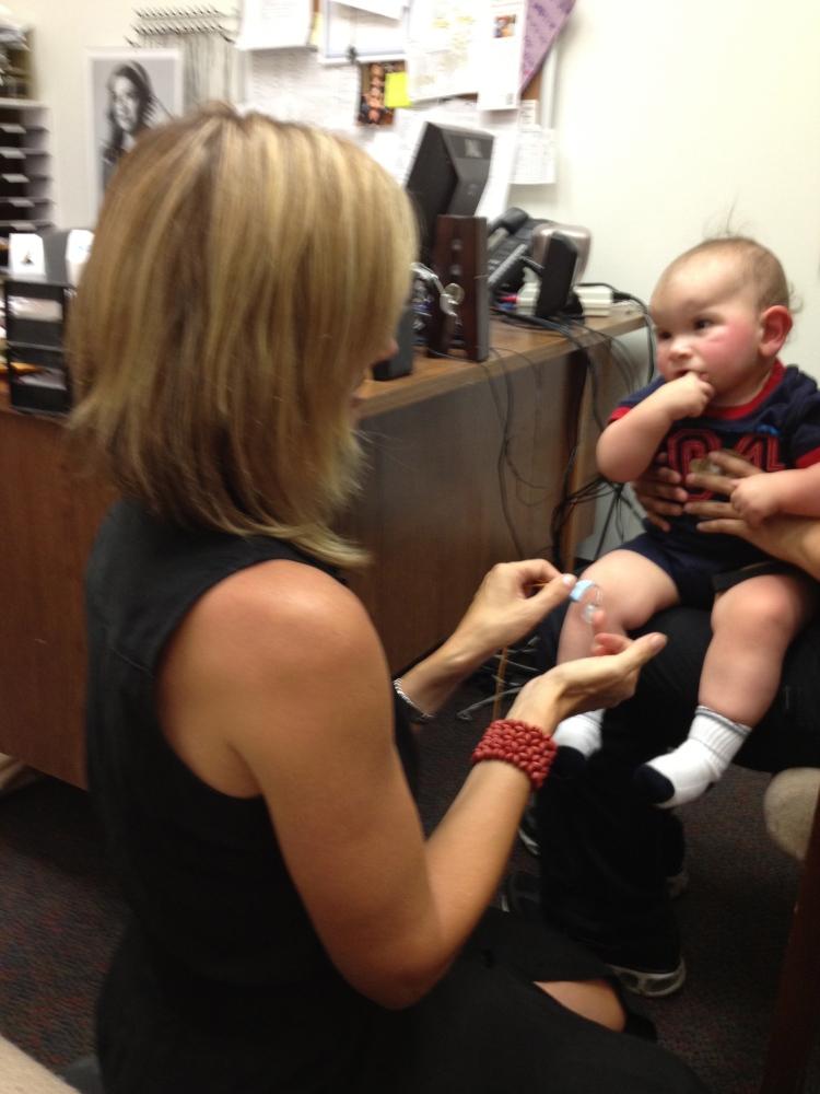 Braxton gets his Hearing Aids (3/6)