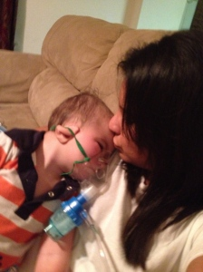 Mommy kisses