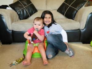 Big sister and Brax :)