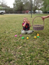 "Braxton ""hunting"" eggs"
