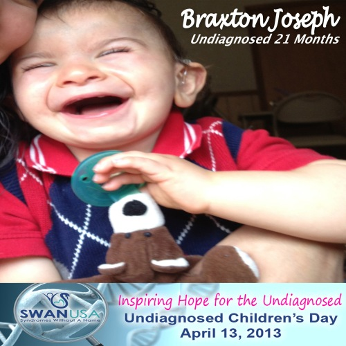 Happy Undiagnosed Children's Day!