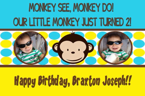 Happy 2nd Birthday, Braxton!