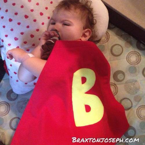 Even super heroes need their rest.