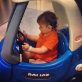 I can escape now! Go, car, go!