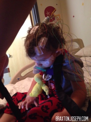 Check out my EEG ponytail