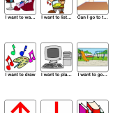 A sample board for various activities having to deal with entertainment.