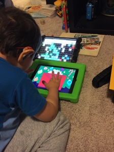 Braxton Using 2 Ipads