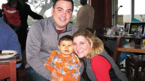 Braxton with Gil and Mary Elizabeth